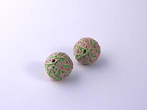 Materiál ručne robený - Korálky pár klbiek 5 - 10674957_