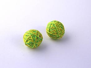 Materiál ručne robený - Korálky pár klbiek 9 - 10674990_
