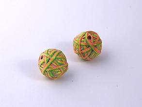 Materiál ručne robený - Korálky pár klbiek 10 - 10674994_