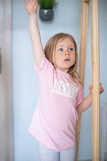 Detské oblečenie - Tričko ružové - Revel - 10676820_