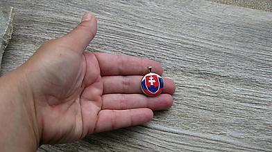 Náhrdelníky - Prívesok Slovesnko (menší, č. 2645) - 10675608_