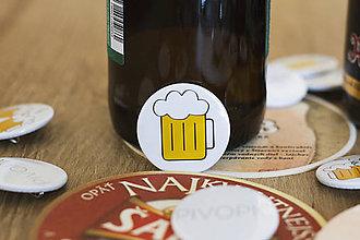 Odznaky/Brošne - Odznak - pivo - 10676675_