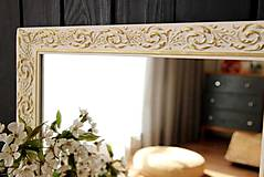 Zrkadlá - Zrkadlo bielo-zlatá noblesa - 10676464_