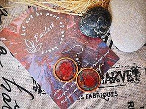 Náušnice - Nebula earrings - 10673986_