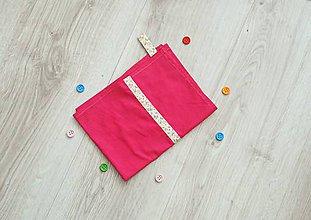 Úžitkový textil - Ružová utierka - 10674995_