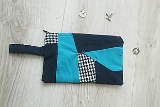 Taštičky - Kozmetická taštička farby a vzory - 10675000_