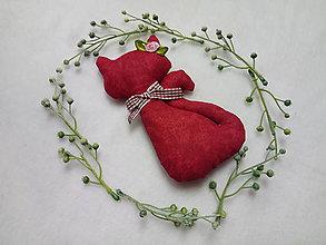 Darčeky pre svadobčanov - Mačička - 10674095_