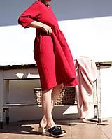 Šaty - gázové.tango red - 10679592_