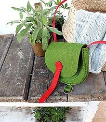 Kabelky - zelená/malá - 10679667_