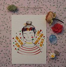 Grafika - Kvetinová - 10679358_