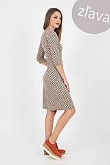 Šaty - -30% MIESTNE PUZDROVÉ ČLENENÉ ŠATY S VRECKAMI (multifarebné) - 10679045_