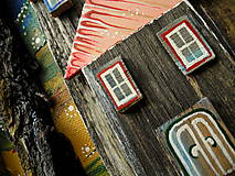 Obrazy - Malebná dedina - 10679883_
