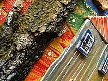 Obrazy - Malebná dedina - 10679884_
