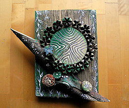 Dekorácie - Orieškový kvet - 10679802_