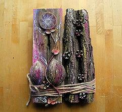 Dekorácie - Orechový kvet - 10679832_