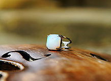 "Prstene - Nerezový prsten..."" Blue "" - 10677882_"