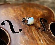 "Prstene - Nerezový prsten..."" Blue "" - 10677884_"