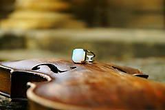 "Prstene - Nerezový prsten..."" Blue "" - 10677885_"