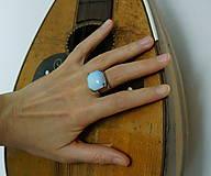 "Prstene - Nerezový prsten..."" Blue "" - 10677887_"