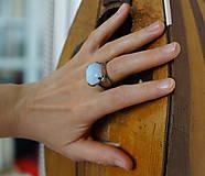 "Prstene - Nerezový prsten..."" Blue "" - 10677888_"