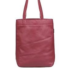 Veľké tašky - Kožená taška SHOPPER - 10679877_