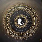 SPIRITUALITA (gold) 40 x 40