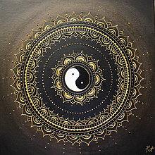 Obrazy - SPIRITUALITA (gold) 40 x 40 - 10679331_