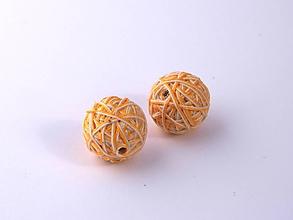 Materiál ručne robený - Korálky pár klbiek 13 - 10676924_