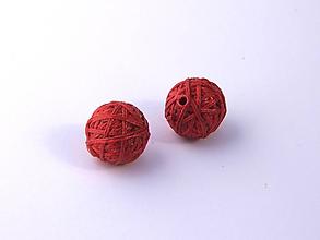 Materiál ručne robený - Korálky pár klbiek 19 - 10676932_