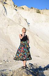 Sukne - Sukňa Multicolor - 10678303_