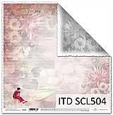 Papier - papier na scrapbooking SCL504 - 10679315_