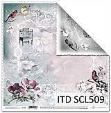Papier - papier na scrapbooking SCL509 - 10679400_