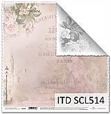 Papier - papier na scrapbooking SCL514 - 10679525_