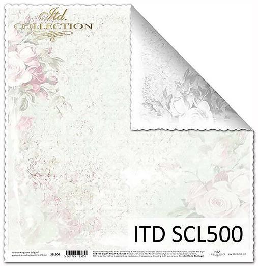 papier na scrapbooking SCL500