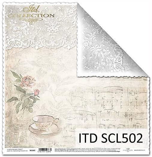 papier na scrapbooking SCL502