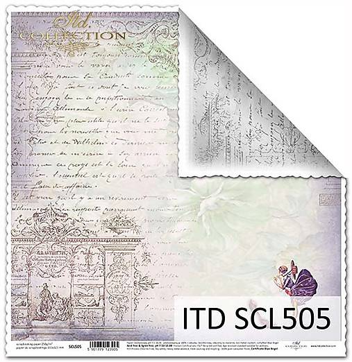 papier na scrapbooking SCL505