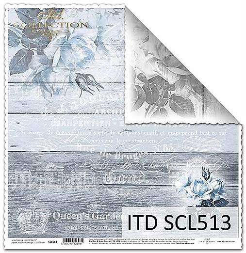 papier na scrapbooking SCL513