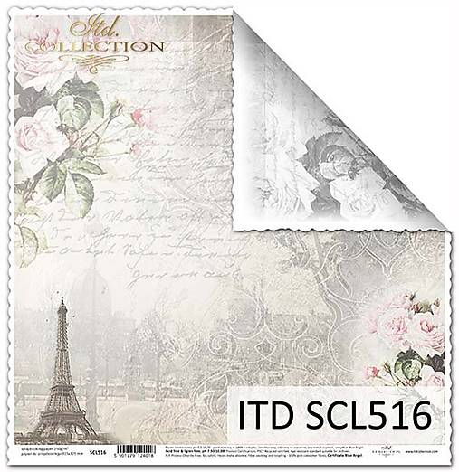papier na scrapbooking SCL516
