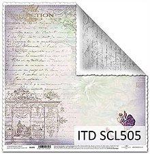 Papier - papier na scrapbooking SCL505 - 10679329_