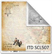 Papier - papier na scrapbooking SCL507 - 10679370_
