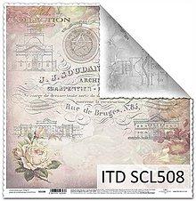 Papier - papier na scrapbooking SCL508 - 10679394_