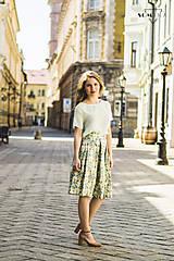"""Sukne - Sukňa """"spring garden"""" - 10678014_"""