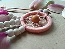 Náhrdelníky - Lapač snov Magnolia - 10678820_