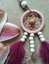 Náhrdelníky - Lapač snov Magnolia - 10678821_