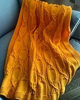 Textil - Ručne pletená detská deka - 10677124_