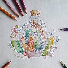 Kresby - Fantastickí priatelia a ich výskyt - 10678297_