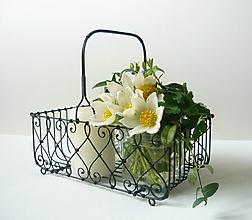 Košíky - Košík s rúčkou - 10677303_