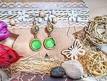 Náušnice - Stay positive earrings - 10678825_