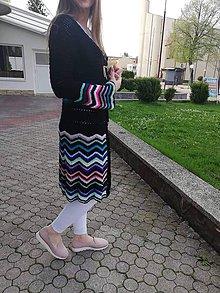 Svetre/Pulóvre - Kardigán háčkovaný - 10677993_