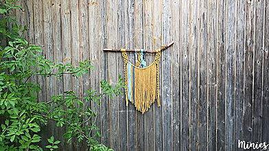 Dekorácie - Závesná dekorácia Navaho - 10678154_